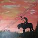 ''The Long Trail'' by Roxxanne G, acrylic, $15.00
