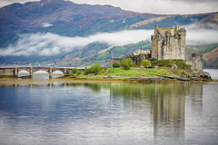 Eilean Donan with mist (gary.m.brown) Tags: scotland castle mist bridge