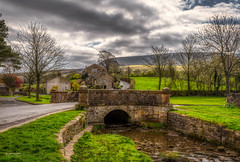 The Little Bridge (Kev Walker ¦ 10 Million Views..Thank You) Tags: architecture clouds england lancashire outdoor sky snow town village aitken barley beautiful beautifulvillage blacko bluesky british buildings cloudy cold council covered crossroad downham english famous floralforeground hill houses icon information landscape near nelson parish parks path pendle rural sign signpost street sunny symbols tourism travel under urban view walking weather winter wood