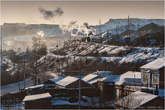 Didao Afternoon (channel packet) Tags: china steam train locomotive sy railway railroad industry coal mine mining jixi winter snow transport davidhill