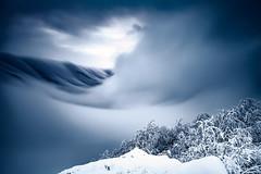 Mountain Engine (Evgeni Dinev) Tags: balkanmountains bulgaria centralbalkan kozyastenareserve bigstopper clouds fog mist ridge snow sunset winter