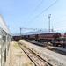 Train in Podgorica train station
