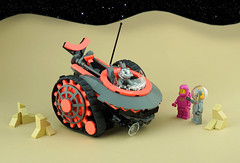 FebRovery 2019 Day 17 (TFDesigns!) Tags: lego space rover febrovery honest john salesman pink coral