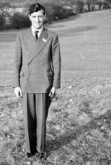 Smart man in his suit (vintage ladies) Tags: vintage blackandwhite photograph photo man male