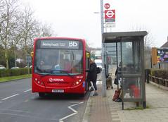 AL ENL87 - GN08CHD - WESTHORNE AVENUE ELTHAM - SAT 16TH FEB 2019 (Bexleybus) Tags: adl dennis enviro 200 arriva london tfl route b15 westhorne avenue eltham green yorkshire grey roundabout se9 south east enl87 gn08chd