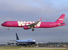 TF-PRO - WOW Air A321 (✈ Adam_Ryan ✈) Tags: dub eidw dublinairport 2019 dublinairport2019 canon 6d 100400liiisusm 100400 photography plane planespotting ireland spring february runway28 light early earlymorning sun aircraft avgeek aviation flight boeing boeing747 b747 b747400 b747dublinairport british airways gbygc retrojet retro repaint boac boaclivery britishoverseasairwayscorporation britishairwaysretrojet dublin painting eirtech speedbird 100 100years anniversary jumbo jumbojet runway photo 1919 19192019 blackandwhite planespottingatdublinairport planes airport airplane photographs adamryanavaitionphotography adamryanaviation fullframe black white old vintage 4engines wow wowair a321 tfpro