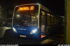 36036 (northwest85) Tags: stagecoach worthing gx57 bhz 36036 alexander dennis adl enviro 200 dart 4 10 town centre bus depot santa santabus gx57bhz