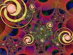 Metaphysical Vision of Remixed Birth (bloorose-thanks 4 all the faves!!) Tags: ultrafractal uf fractal digital art abstract