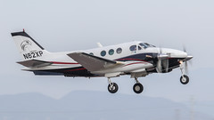 Beech C90 King Air N82XP (ChrisK48) Tags: kdvt n82xp kingair 1982 airplane blackhawkmodificationsinc beechcraft phoenixaz beechc90 dvt aircraft phoenixdeervalleyairport