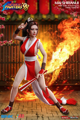 PHICEN PL2019-134 Mai Shiranui 不知火舞 SNK King of Fighters - 04 (Lord Dragon 龍王爺) Tags: 16scale 12inscale onesixthscale actionfigure doll hot toys phicen tbleague seamless