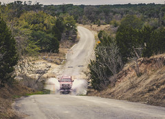 Texan raods (Naity Dhim) Tags: road water river rough accident roughroad rivercrossing car texas austin pedernales sel1870z