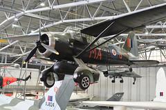 Westland Lysander (V9673) (Bri_J) Tags: iwm duxford cambridgeshire uk museum airmuseum aviationmuseum nikon d7500 imperialwarmuseum westland lysander westlandlysander v9673 wwii raf aircraft 161squadron