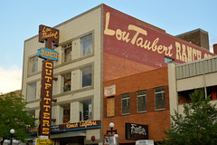 Lou Talbert Ranch Outfitters (radargeek) Tags: casper wyoming wy 2018 july loutalbertranchoutfitters store architecture sign neon signage