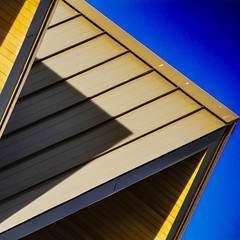 (jfre81) Tags: abstract architecture geometry minimalist shape form color blue yellow triangle polygon houston texas tx tex montrose westheimer 713 james fremont photography canon rebel xs eos