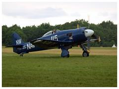 Hawker Sea Fury FB.11 - 37733 - F-AZXJ (Aerofossile2012) Tags: hawker seafury fb11 fazxj avion aircraft aviation flying laferté meeting airshow 2017