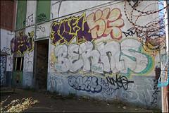 (Alex Ellison) Tags: ofske irek lwi berns trackside railway northlondon urban graffiti graff boobs