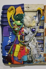 Bordalo II_0916 galerie Mathgoth Paris 13 (meuh1246) Tags: streetart paris animaux bordaloii galeriemathgoth paris13 accorddeparis lama