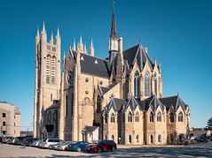 Basilica of Our Lady Immaculate (Richard Pilon) Tags: guelph church ontario fujixt3 basilicaofourladyimmaculate fujinon architecture fujifilm catholicchurch