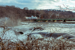 BB looking west-09719 (Visual Thinking (by Terry McKenna)) Tags: patersongreatfalls patersonnj high water flooding shutdown