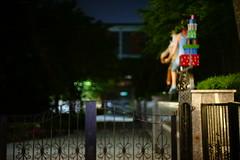 2230/1917 (june1777) Tags: snap street seoul night light bokeh sony a7ii carl zeiss ikon sonnar 50mm f15 oberkochen 12800 clear