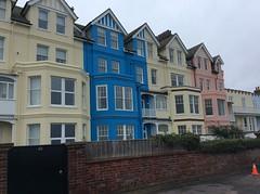 ALDEBURGH, SUFFOLK (meddie / aka Gramps) Tags: aldeburgh suffolk sand sea beach boats buildings houses blue green grey