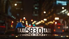 TAXI 5830 TAXI (Jovan Jimenez) Tags: canon eos 70d ef 50mm f18 stm bokeh cinematic night taxi cab chicago city streetphotography closeup