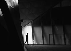 F_MG_6485-4-BW-Canon 6DII-Tamron 28-300mm-MayLee 廖藹淳 (May-margy) Tags: maymargy bw 黑白 人像 逆光 剪影 現代建築 玻璃牆 金屬外牆 幾何構圖 點人 台灣攝影師 脈動 模糊 散景 街拍 線條造型與光影 天馬行空鏡頭的異想世界 心象意象與影像 苗栗縣 台灣 中華民國 portrait backlighting silhouette modern architecture glass window panels metal siding streetviewphotography motion blur bokeh mylensandmyimagination linesformandlightandshadow naturalcoincidencethrumylens taiwanphotographer humaningeometry humanelement miaolicounty canon6dii tamron28300mm maylee廖藹淳 taiwan repofchina fmg64854bw