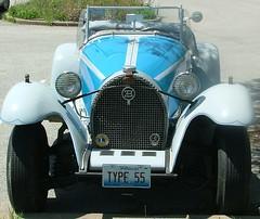 TYPE 55 (jHc__johart) Tags: bugatti badge license 55 bugattitype55 car auto automobile vehicle grille