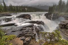 Athabasca Falls - Jasper National Park - Alberta, Canada (helikesto-rec) Tags: athabascafalls athabasca falls jaspernationalpark jasper alberta canada