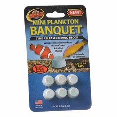 Zoo Med Plankton Banquet Fish Feeding Block - Mini - 6 Pack - 5 Pieces Zoo Meds Plankton BanquetB time release feeding blocks last 3 to 14 days, depending on block size.   Check out our website: https://spaceplug.com/zoo-med-plankton-banquet-fish-feeding- (spaceplug) Tags: photooftheday shop marketplace mood spaceplug like buy sell banquet like4like photo zoomed products planktonbanquet feedingblock followus fish photography follow4follow