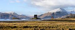 Loch Laich with Castle Stalker (andrewmckie) Tags: lochlaich castlestalker castles scotland scottish scottishscenery scottishcastles ardnamurchan argyleandbute