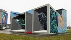 Leon Keer / Antwerpen - 2 feb 2019 (Ferdinand 'Ferre' Feys) Tags: antwerpen anvers antwerp belgium belgique belgië streetart artdelarue graffitiart graffiti graff urbanart urbanarte arteurbano ferdinandfeys