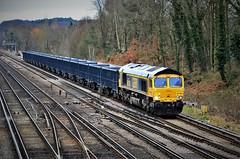 66738 (stavioni) Tags: gbrf gb railfreight freight diesel rail railway train shed class66 66738 huddersfield town