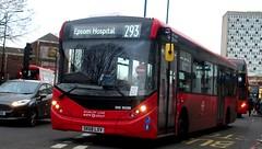 Quality Line DXE30288 on route 293 Morden station 17/02/19. (Ledlon89) Tags: bus buses transport london morden surrey londonbus londonbuses goaheadlondon abellio qualityline mordenstation tfl transportforlondon londongeneral