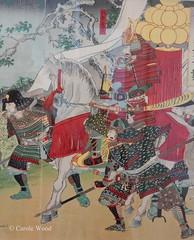 Carcassonne - Musée des Beaux-Arts (Fontaines de Rome) Tags: aude carcassonne musée beaux arts exposition samouraï art symbolisme japon estampe watanabe nobukazu japan samurai 日本 美術 侍 象徴主義