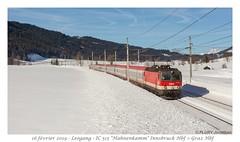 Rh 1144 252 - Grießen, Leogang (CC72080) Tags: rh1144 öbb locomotive lokomotive zug personenzug intercité leogang autriche train