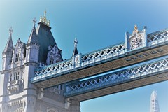 Old and new (ulbespaans) Tags: london tower city towerbridge uk england tourism architecture history