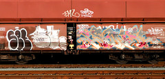 Graffiti on Freights (wojofoto) Tags: graffiti amsterdam nederland netherland holland freighttraingraffiti freighttrain fr8 freights vrachttrein cargotrain wojofoto wolfgangjosten set