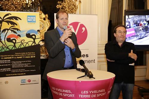 Soirée de lancement de la 77ème édition de Paris - Nice