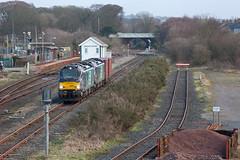 Pandora's Box(es) (Richie B.) Tags: maryport cumbria 6c50 drs direct rail services vossloh caterpillar stadler class 88 88004 88006 pfa iso