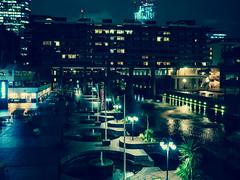 Barbican Centre (davepickettphotographer) Tags: london cityoflondon central centre city barbican uk england nightphotography night evening barbicancentre venue lights