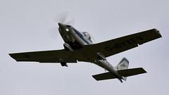 Grob Tutor (Bernie Condon) Tags: mod boscombedown boscombe test trials airfield qinetiq wilts uk grob tutor raf military royalairforce basictrainer trainer