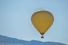 Hot Air Balloon over Canyon Ranch (Kukui Photography) Tags: arizona canyon ranch hot air balloon tucson canyonranch hotairballoon