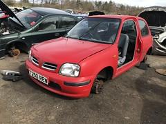 Profile (Sam Tait) Tags: nissan micra provine 16v 10 red hatchback 3 door 1999 retro