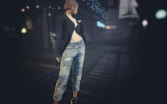 COCO LonglineCardigan and RippedCropJeans(uber) (noagreen000) Tags: coco uber