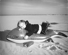 Crocodile Tears (Steve Lundqvist) Tags: crocodile tears toddler girl beach family flash light portrait young little cool kids sand sea mare spiaggia toy child children bruce weber