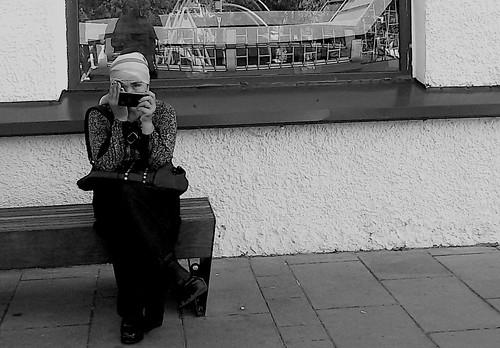 I look at the world one eye ©  Sergei F