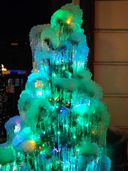 Iced Christmas tree from Moscow (Sankab) Tags: tree ice newyear merrychristmas garland freezingrain moscowcity icicles celebration winter