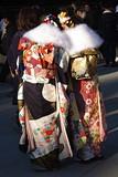Coming-of-age Day, Tokyo, Japan (runslikethewind83) Tags: pentax ladies women kimono comingofage dress beautiful 成人の日 着物 女性 japan tokyo