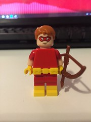 DC's Speedy (Roy Harper) (Numbuh1Nerd) Tags: lego purist custom superheroes minifigures dc comics golden age arsenal red arrow green cw arrowverse